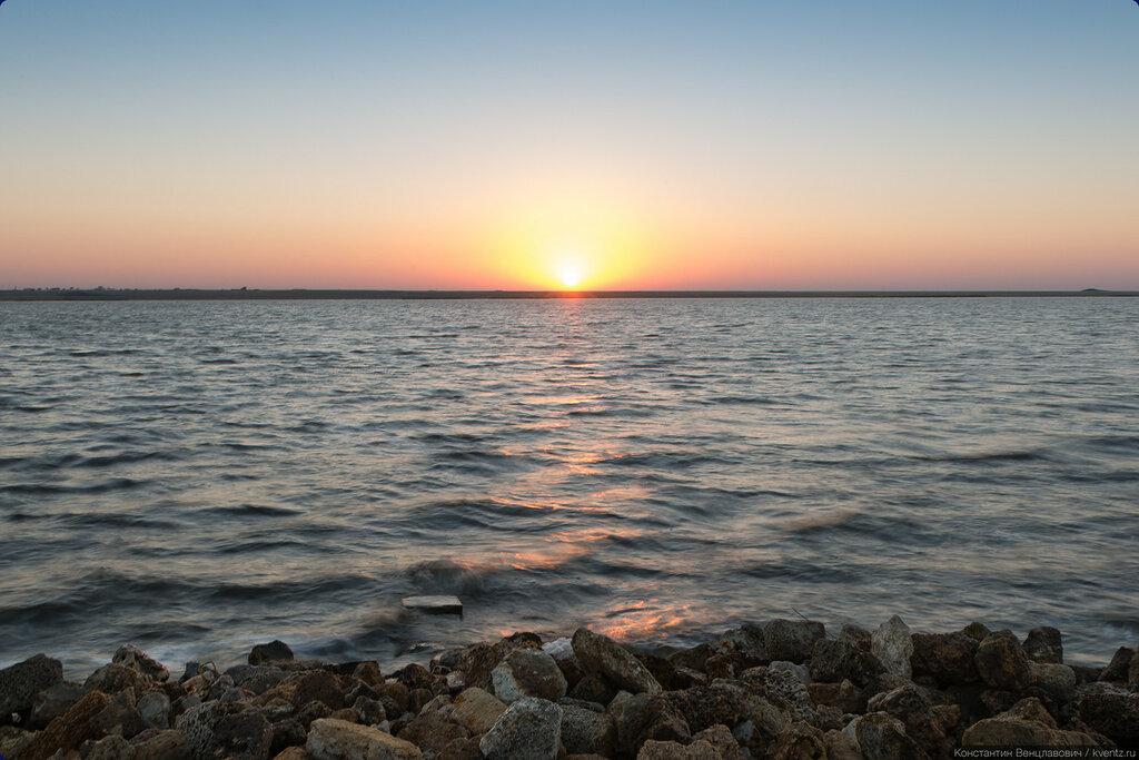 Озеро Сасык-Сиваш, Крым, Евпатория