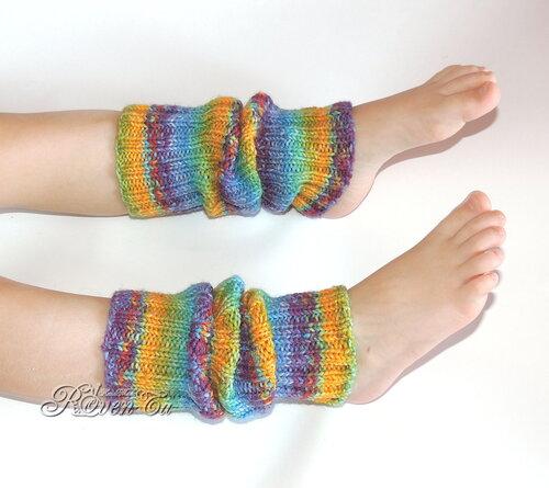 roventa-handmade, leg warmers, opal,  гетры, вязаные гетры, пряжа опал, вязание детям