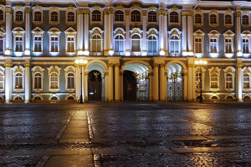 Зимний дворец, главный вход (1754-1762гг), Санкт-Петербург