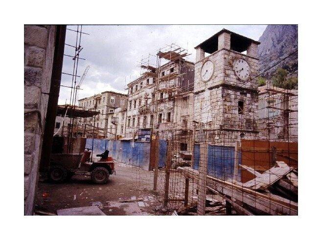землетрясение в Черногории, Старый град Котора