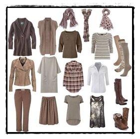 капсула одежды casual