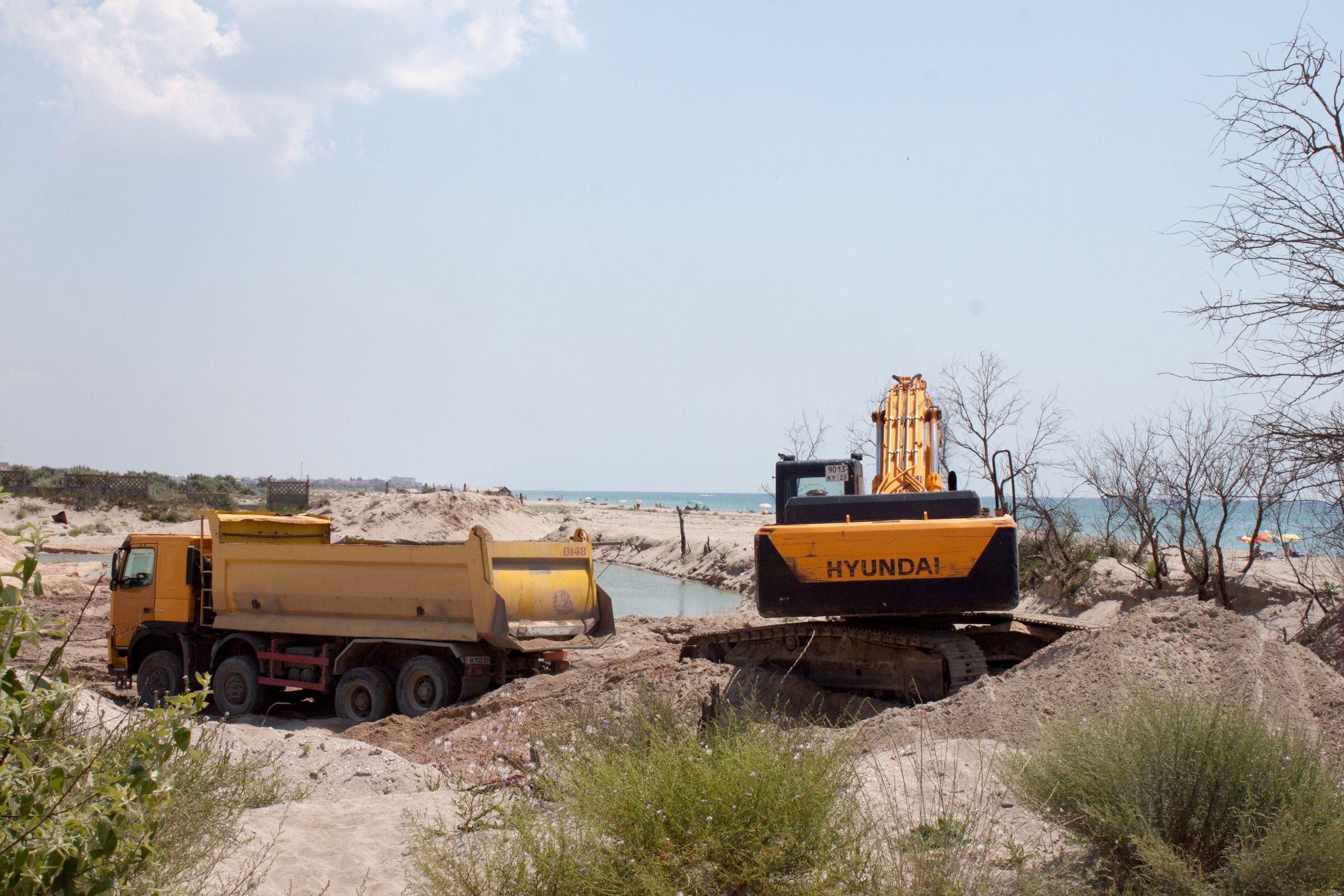 Песчаные пляжи Крыма – под угрозой уничтожения!