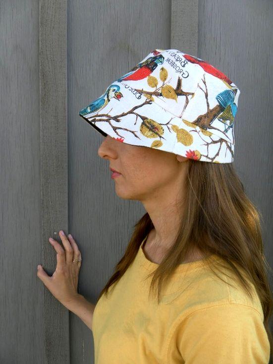 Шьем женскую панаму. Sewing women's hat.