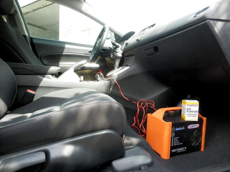 Чистка кондиционера в Авто, Симферополь