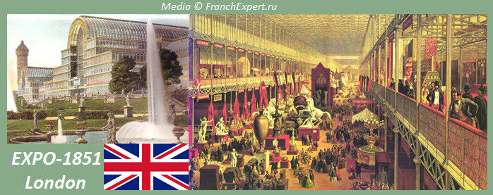 ЭКСПО 1851  Лондон