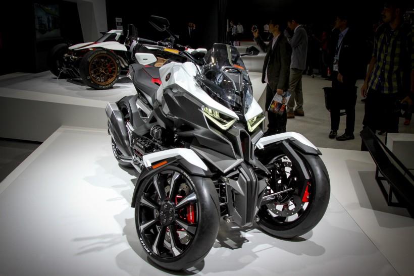 Самые крутые мотоциклы Токийского автосалона