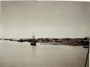 Вид на набережную с реки Дон