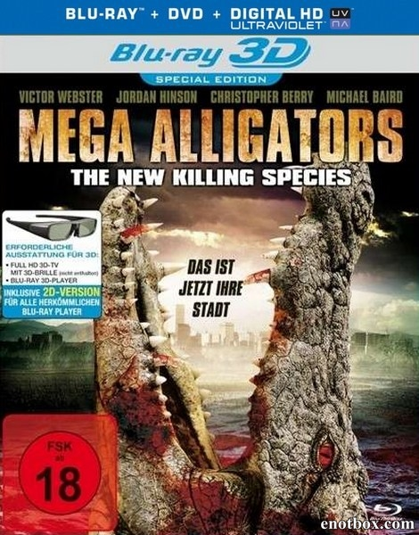 Земля аллигаторов / Ragin Cajun Redneck Gators (2013/BDRip/HDRip)