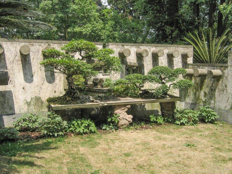 Сад в плошке, бонсаи, Ханчжоу, Люхэта