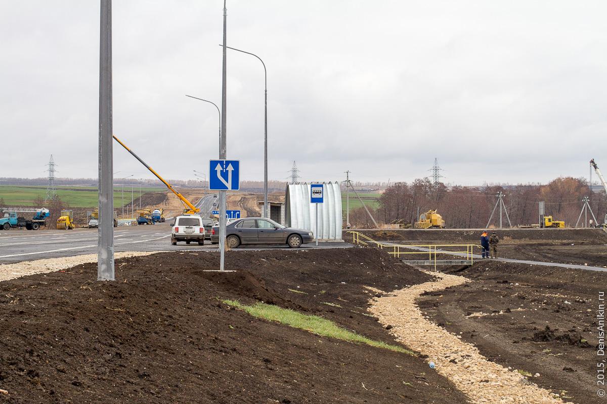 Строительство автодороги в обход Елшанки 27