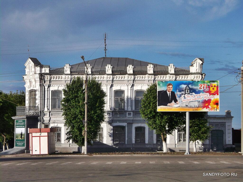 Центральная площадь Троицка украшена ко дню города
