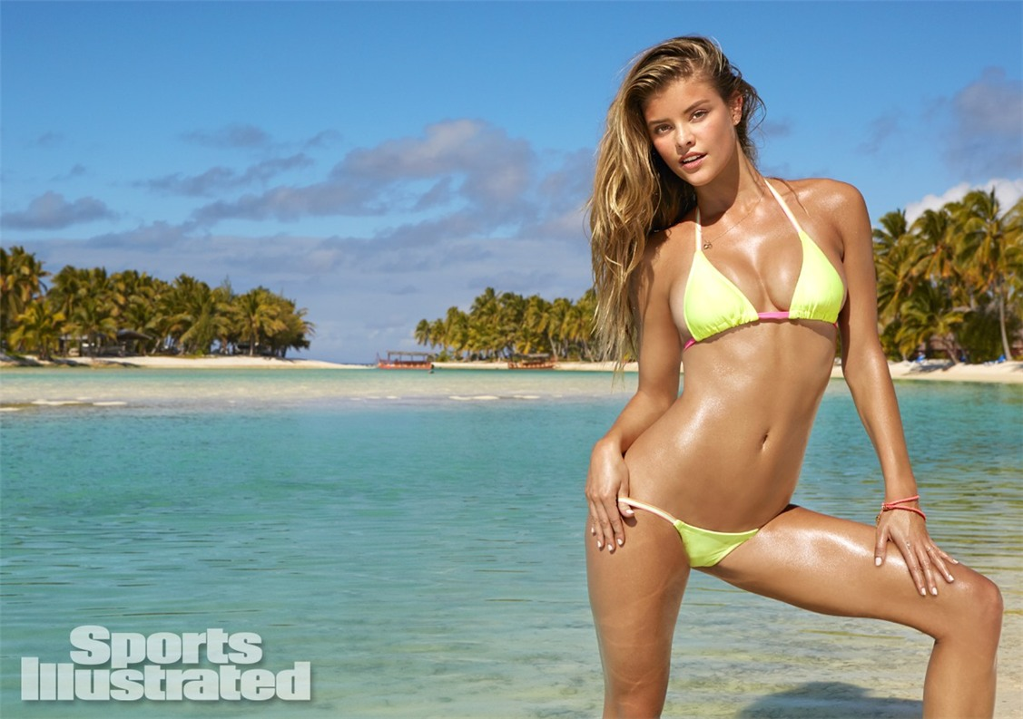 Нина Агдал в купальниках Sports Illustrated Swimsuit 2014 - Nina Agdal by James Macari in the Cook Islands