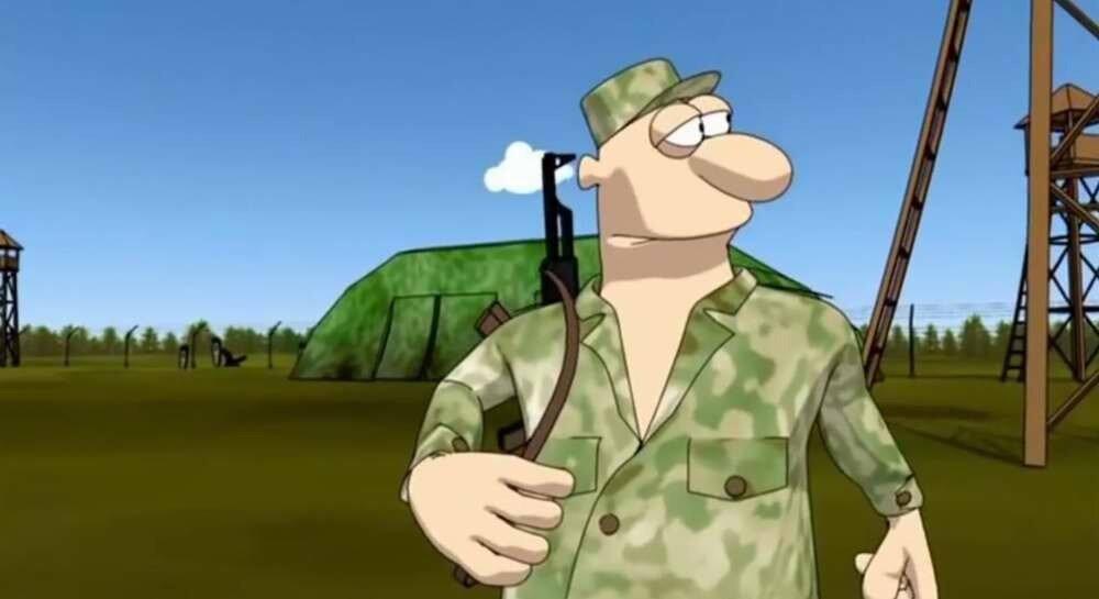 Украинская армия - мультфильм Про Алика и Лелика