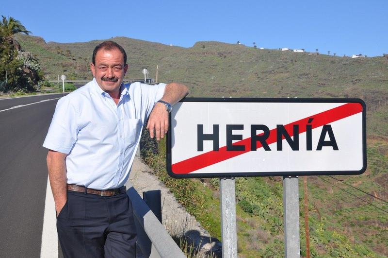 Где заканчивается hernia