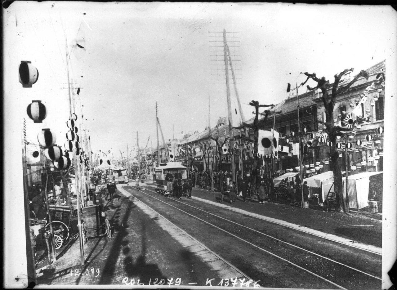 1910. Токийская улица