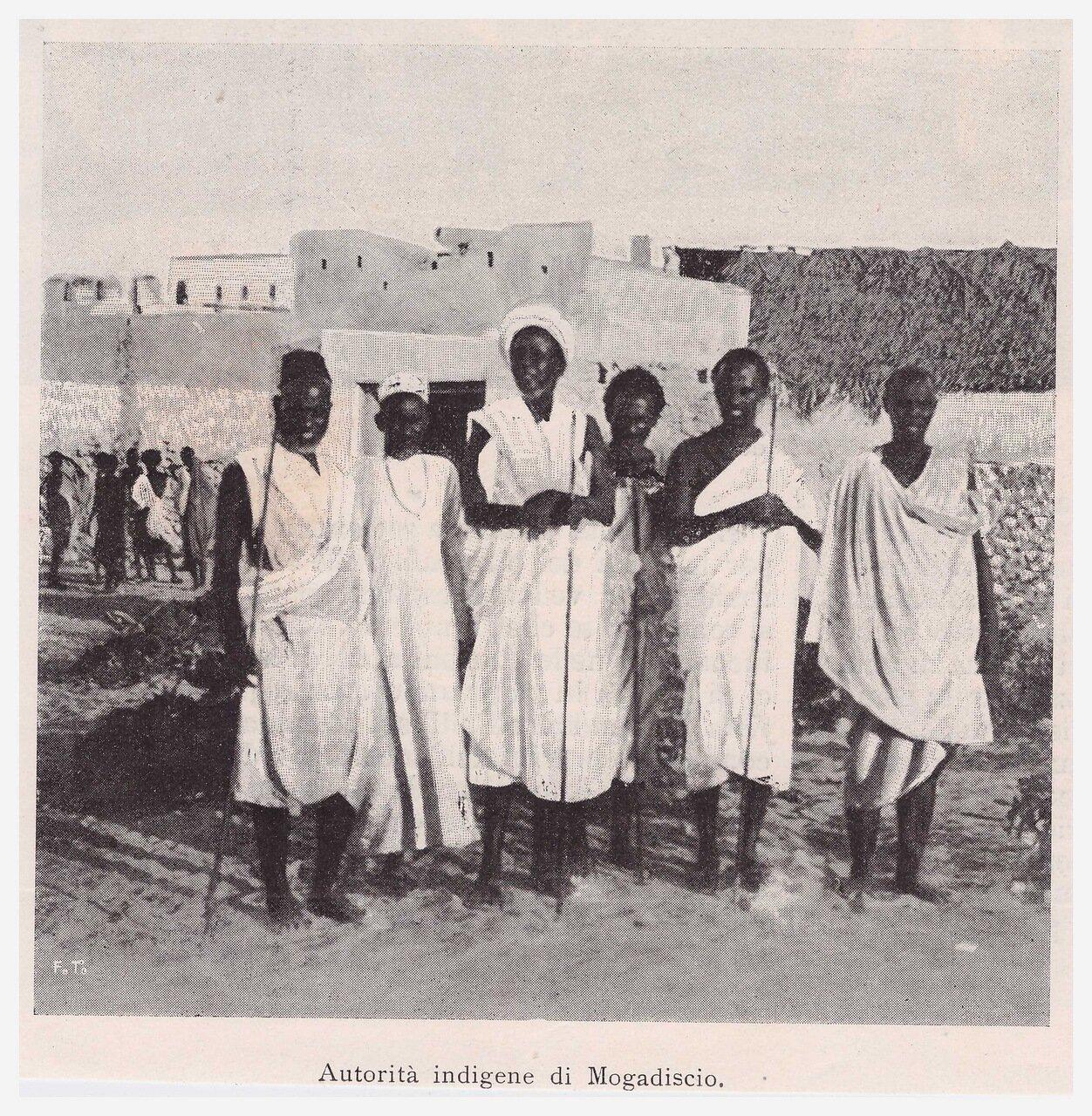 1901. Местная власть в Могадишо