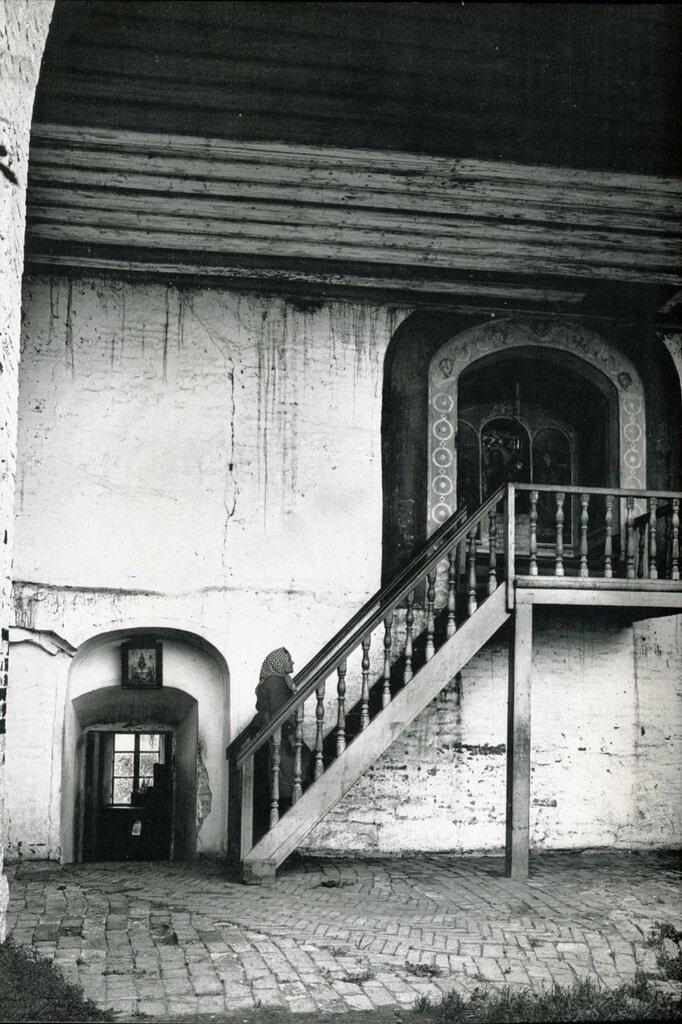 Часовня Живоносного источника в Спасской башне. 1911