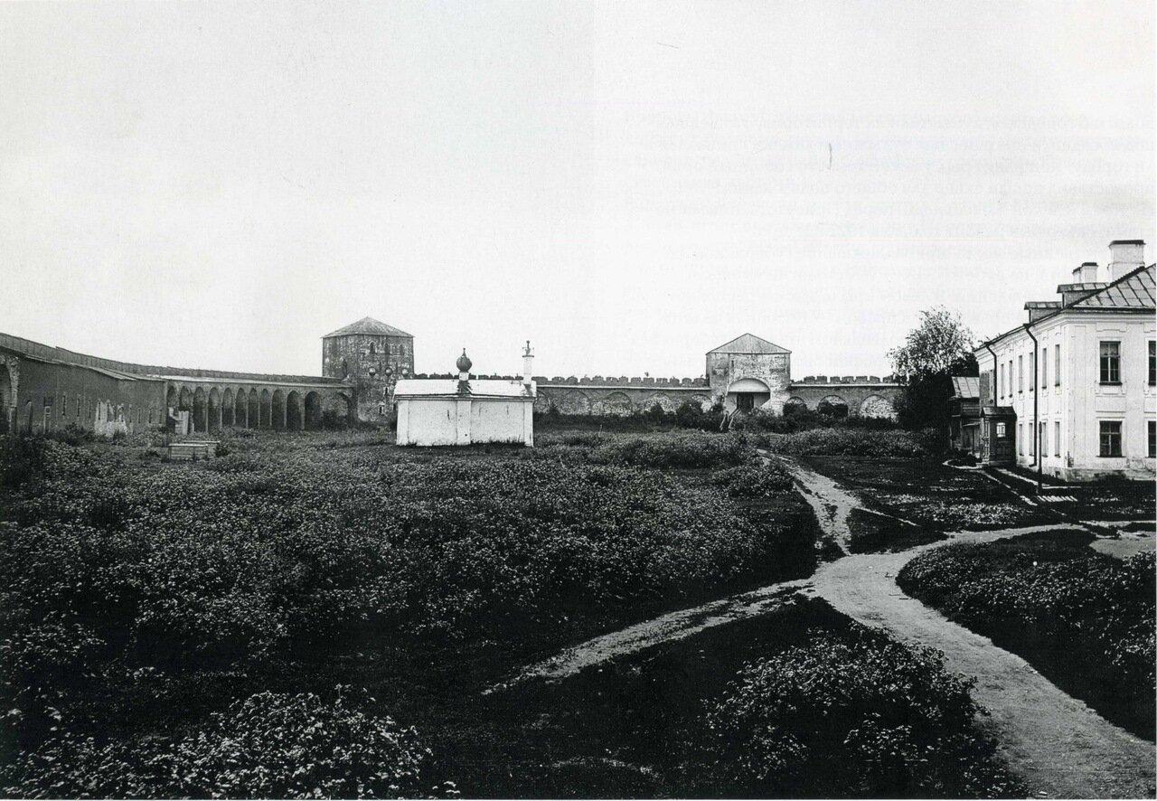Южная часть кремля. Снимок 1911