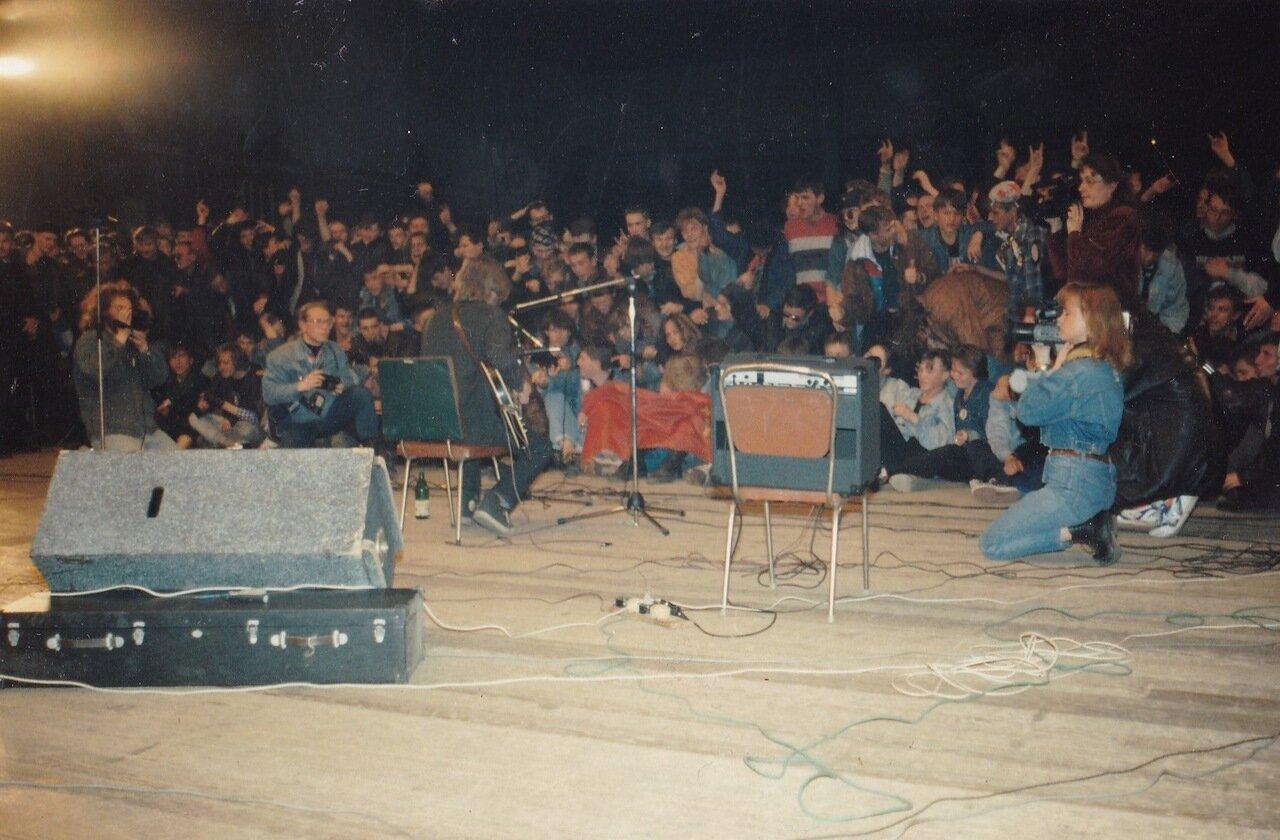 1995. Концерт Егора Летова в Политехе Иркутска