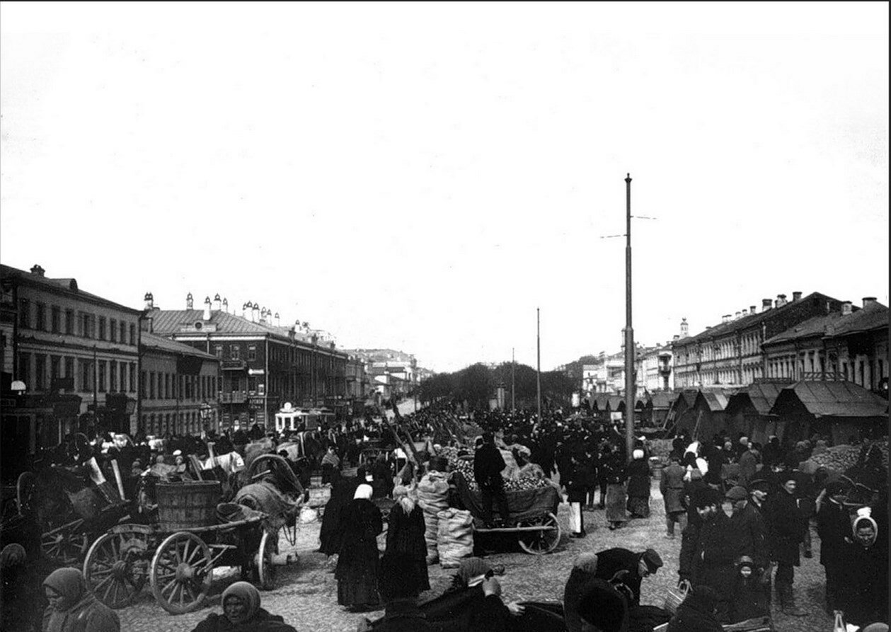 477. Смоленский рынок на Новинском бульваре