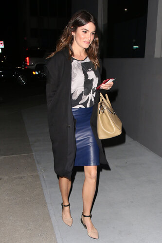 Nikki Reed seen leaving the Crossroads restaurant in Los Angeles