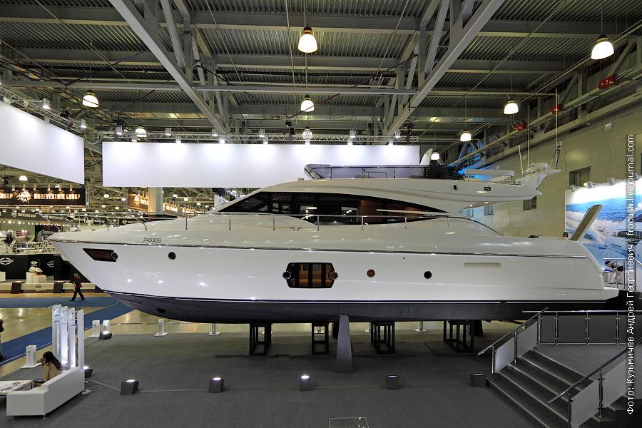 Выставка катеров и яхт Московское Боут Шоу Ferretti 620
