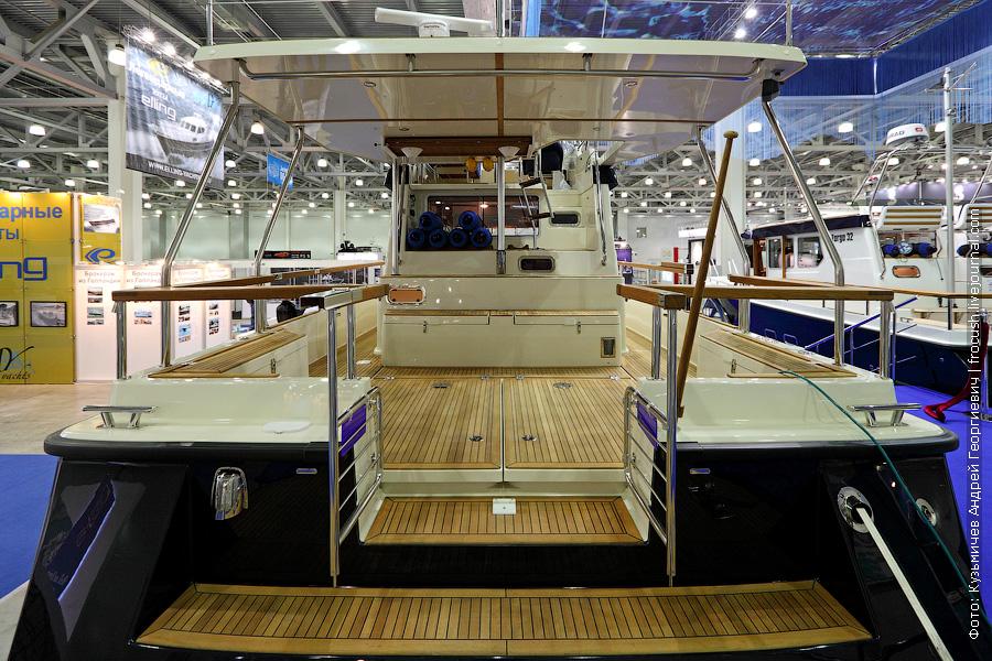 Выставка катеров и яхт