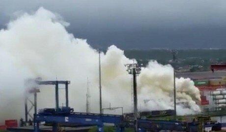 Гуаружу в Бразилии после пожара накрыло токсичное облако