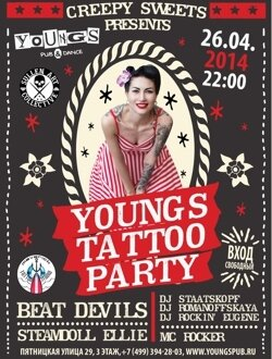 Young Tattoo Party