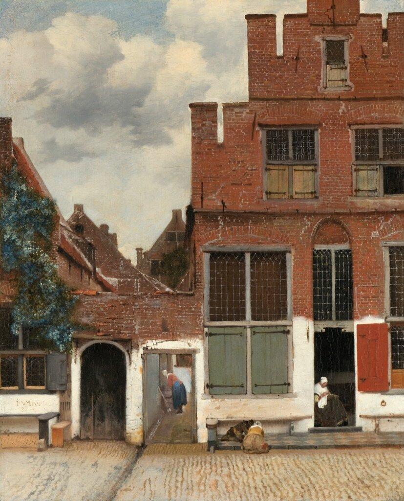 10.Улочка Делфта (1658) (54,3 x 44) (Амстердам, Гос.музей).jpg