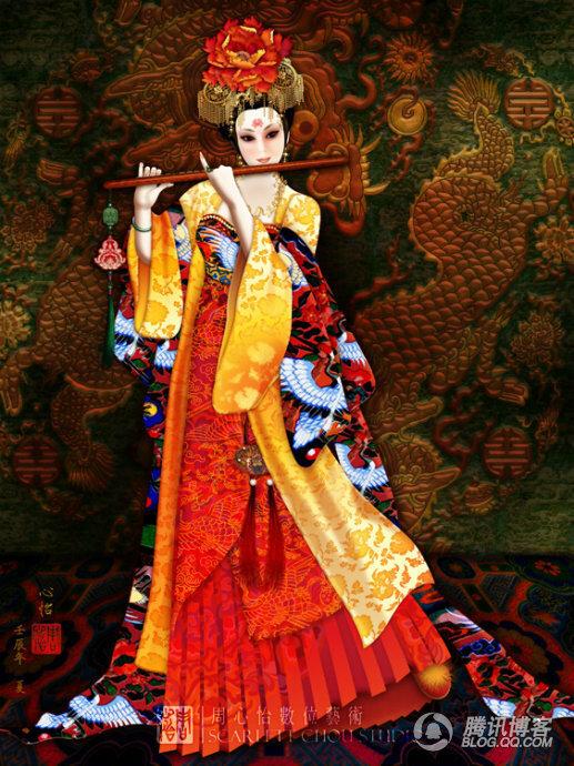 Чоу Скарлетт - художница из США Тайваньского происхождения