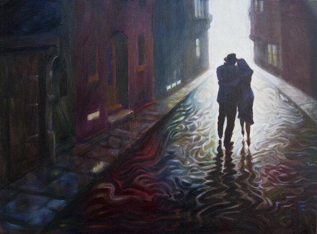 Дождь и я! Художник Mark Keller