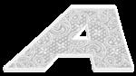 Кружевной алфавит