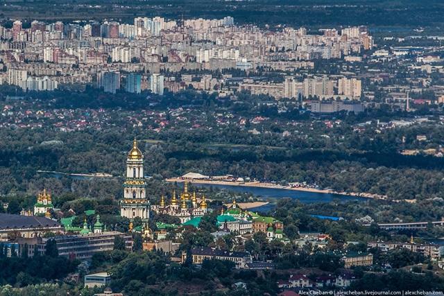 Красивые фотографии Киева с высоты птичьего полета 0 12d0f0 a4c9841e orig