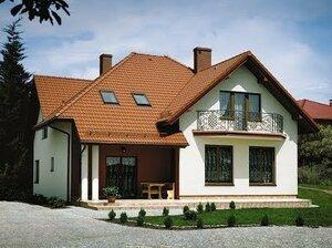 Мансардная крыша в частном доме