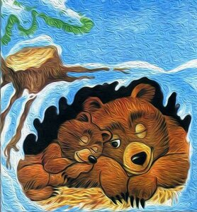 Картинка заяц в лесу