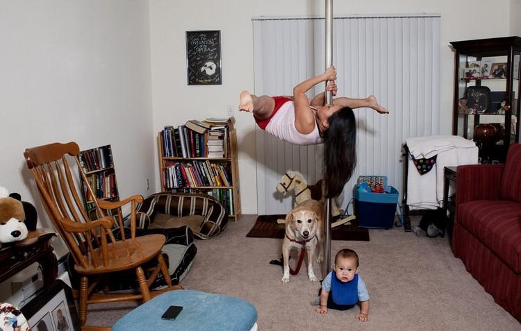 Стрип танец в домашних условиях