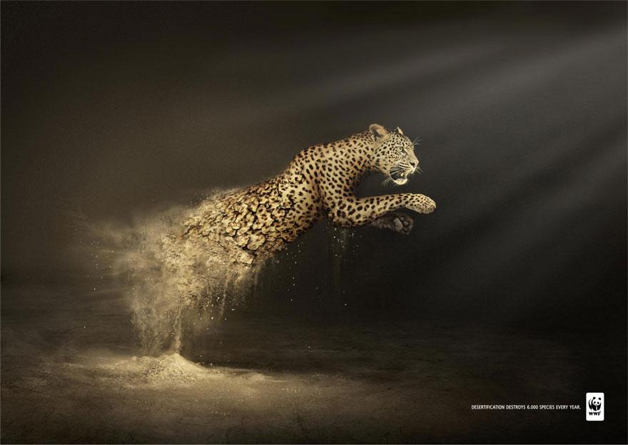 Социальная реклама о спасении нашего мира. 45 принтов