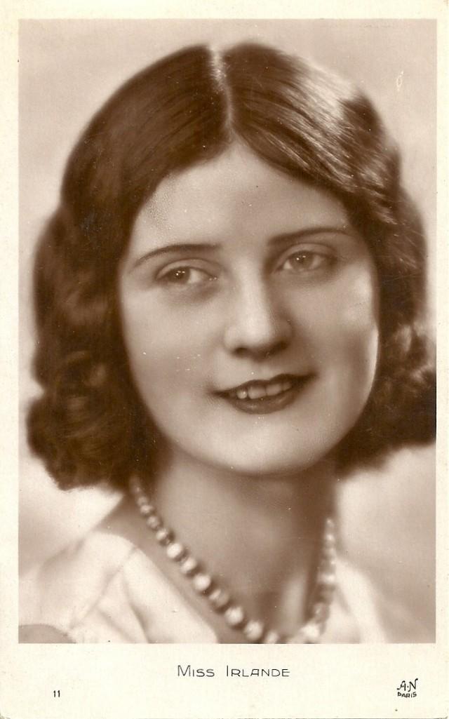2. Мисс Ирландия Вера Курран. В Греции конкурсы красоты начали проводиться с 1929 года. Причем прове