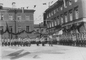 Парад полка в день 100-летнего юбилея Кульмского боя.