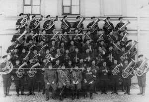 Музыкальный взвод батальона .