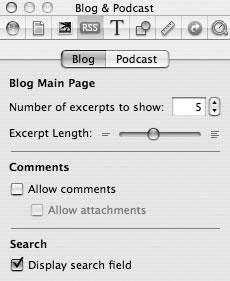 Рис. 9.66. Установка параметров предпочтительной настройки RSS