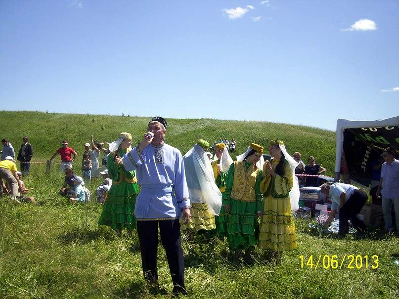 Деревня Портчара, праздник Сабантуй
