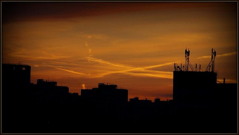 Ночные крыши