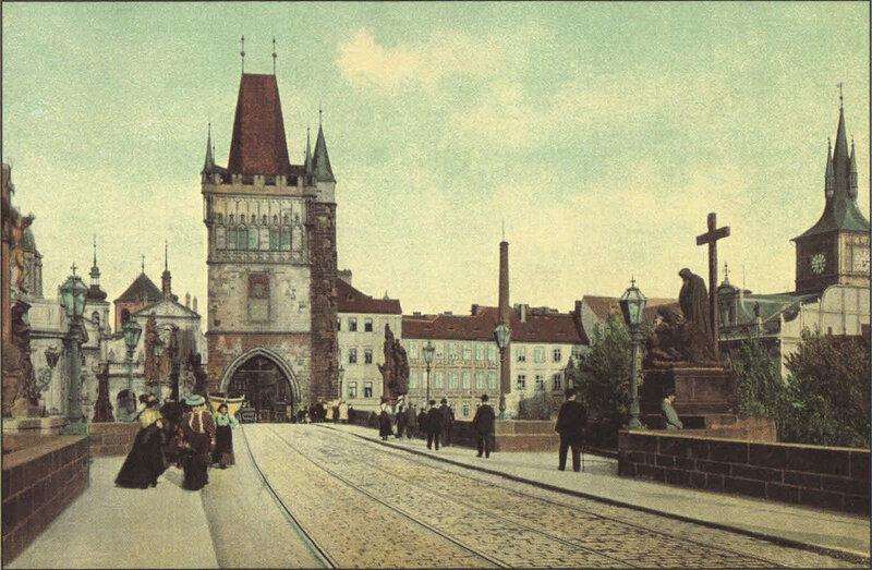 7. Карлов мост. ~ 1900 год