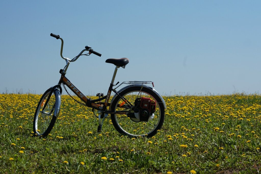 Веломотор Весна-Лайт