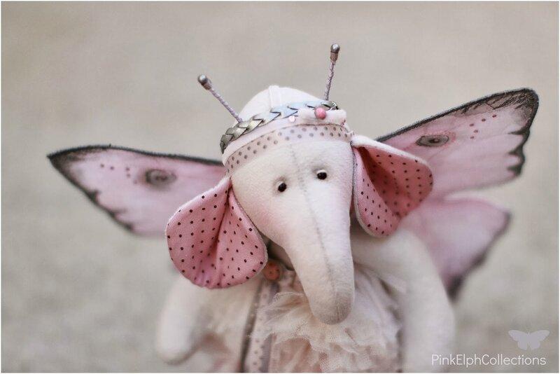 розовый слон