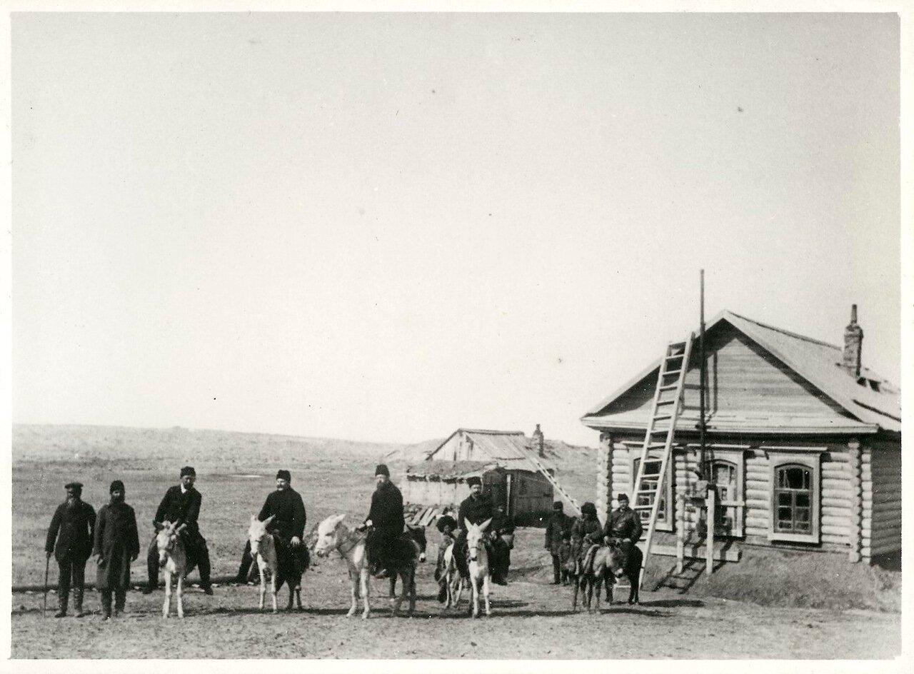 Резиденция нобелевских управляющих  на полуострове Челекен