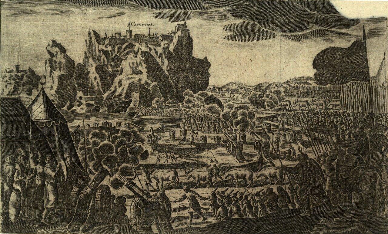 Битва под Каменцем. 1672
