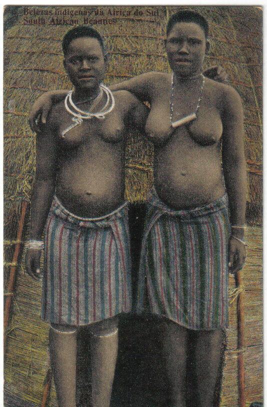 Девушки из португальской Южной Африки